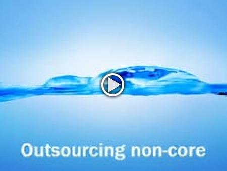 Outsourcing non-core